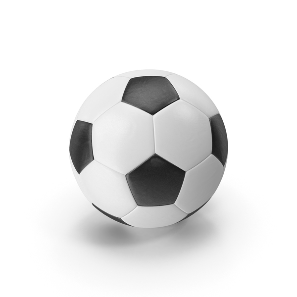 Realistic Leather Soccer Ball PNG & PSD Images