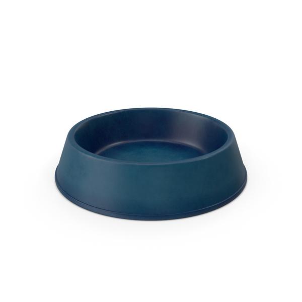 Realistic Pet Bowl Blue PNG & PSD Images