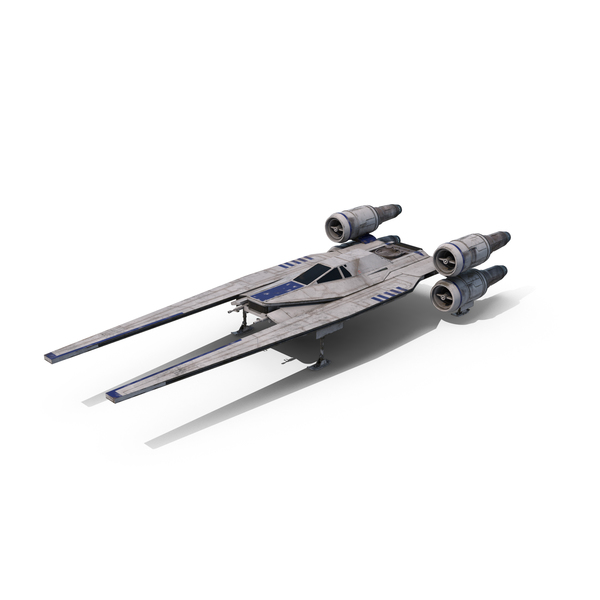 Space Fighter: Rebel Starfighter (U-Wing) Landed PNG & PSD Images