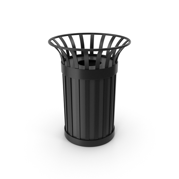 Recycle Bin Black PNG & PSD Images