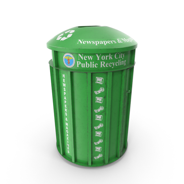 Recycle Bin Green PNG & PSD Images