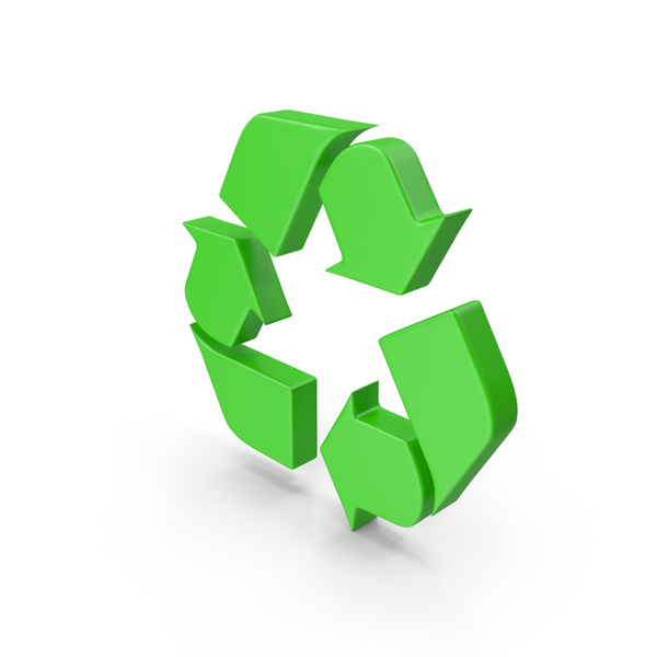 Recycle Green Web Icon PNG & PSD Images