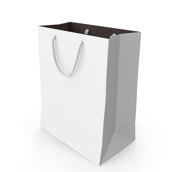 Gift: Recycled Paper Bag PNG & PSD Images