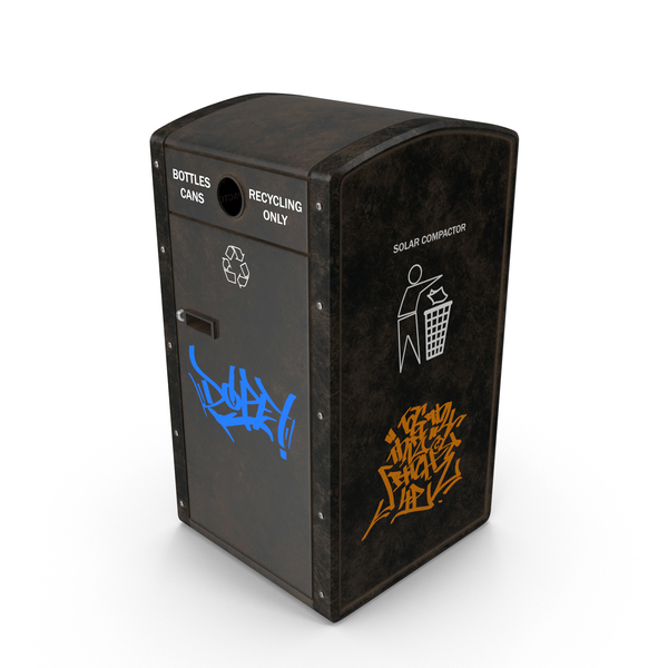 Bin: Recycling Trash Can PNG & PSD Images