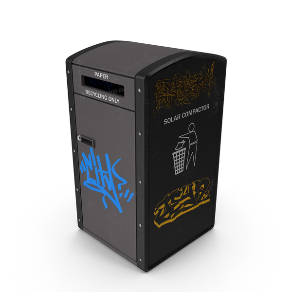Recycling Trash Can PNG & PSD Images