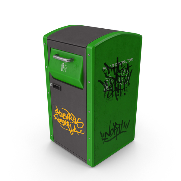 Dustbin: Recycling Trash Can PNG & PSD Images