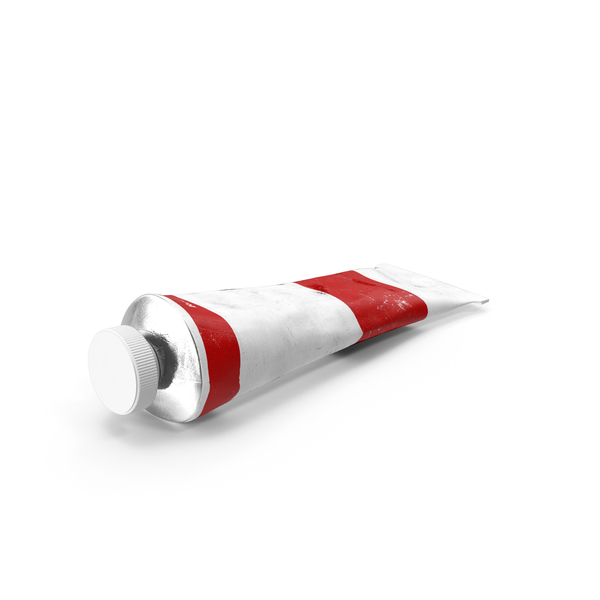 Red Acrylic Paint Tube PNG & PSD Images
