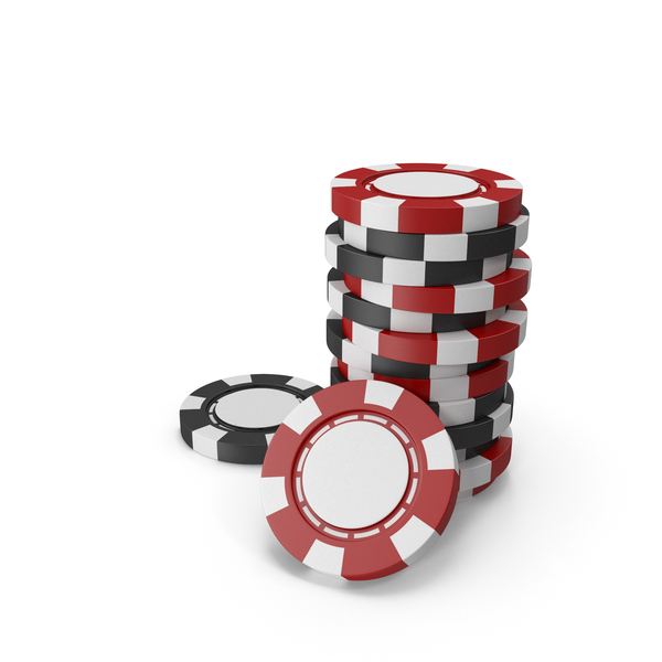 Red and Black Empty Chips for Casino PNG & PSD Images