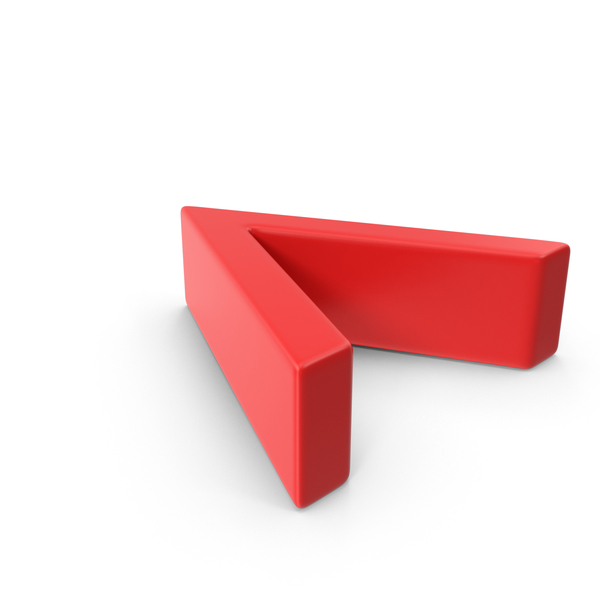 Red Angle Bracket PNG & PSD Images