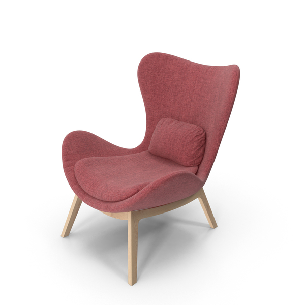 Red Armchair PNG & PSD Images