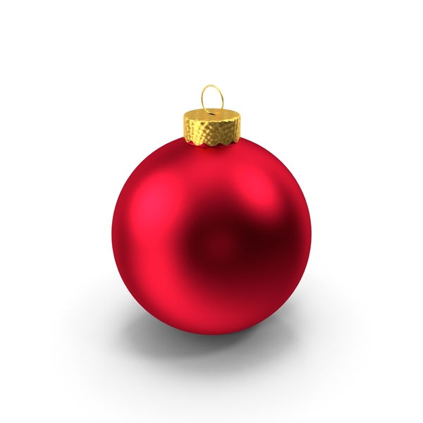 Red Ball Ornament PNG & PSD Images