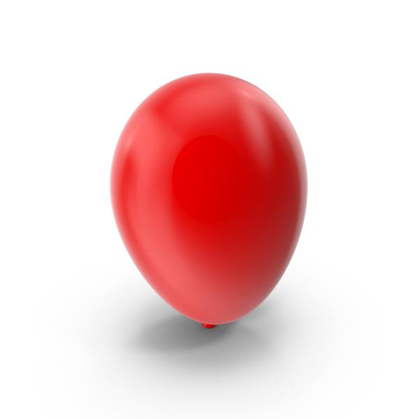 Balloons: Red Ballon Object