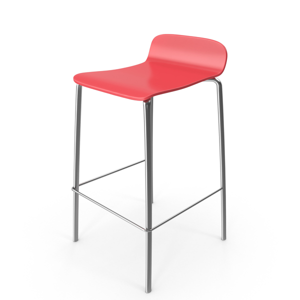 Red Bar Stool PNG & PSD Images