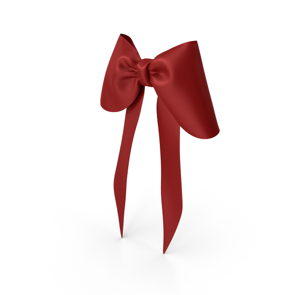 Gift: Red Bow PNG & PSD Images