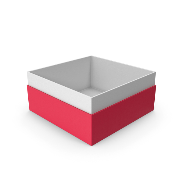 Cardboard: Red Box No Cap PNG & PSD Images