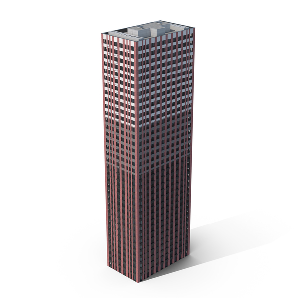 Red Brick Skyscraper PNG & PSD Images