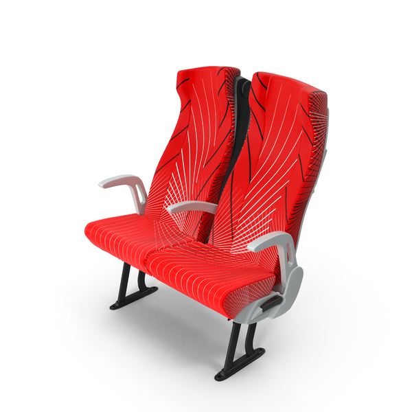 Red Bus Seat Object