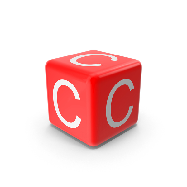 Red C Block Object