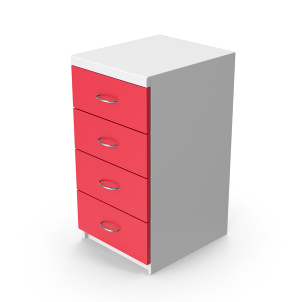 Red Cabinet PNG & PSD Images