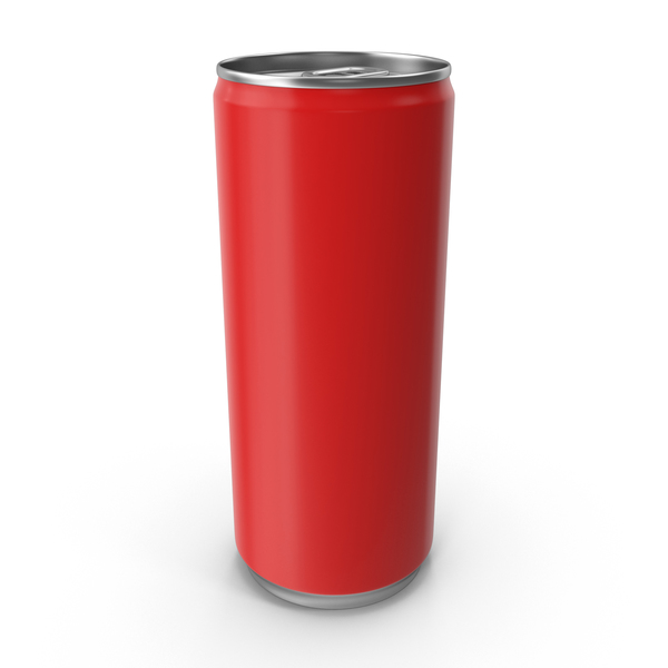 Red Can 250ml PNG & PSD Images