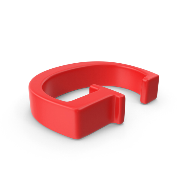 Red Capital Letter G PNG & PSD Images