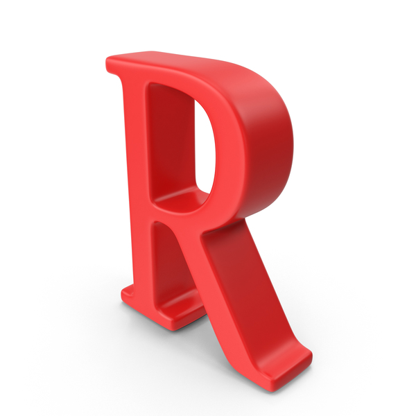 Red Capital Letter R PNG & PSD Images