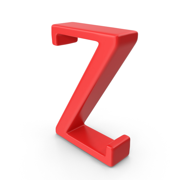 Red Capital Letter Z PNG & PSD Images