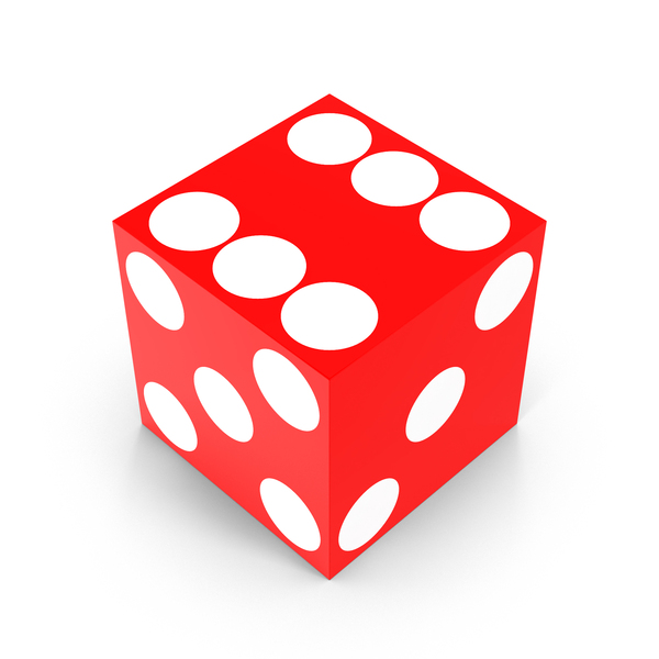 Dice: Red Casino Die PNG & PSD Images