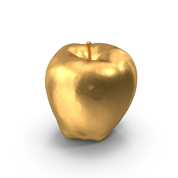 Red Chief Apple Gold PNG & PSD Images