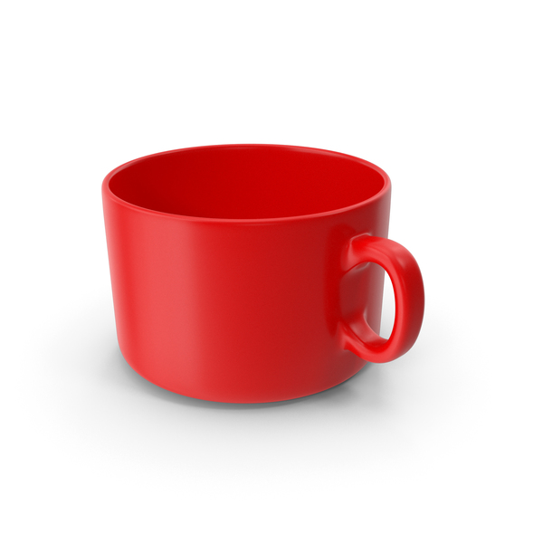 Red Coffee Cup Empty PNG & PSD Images
