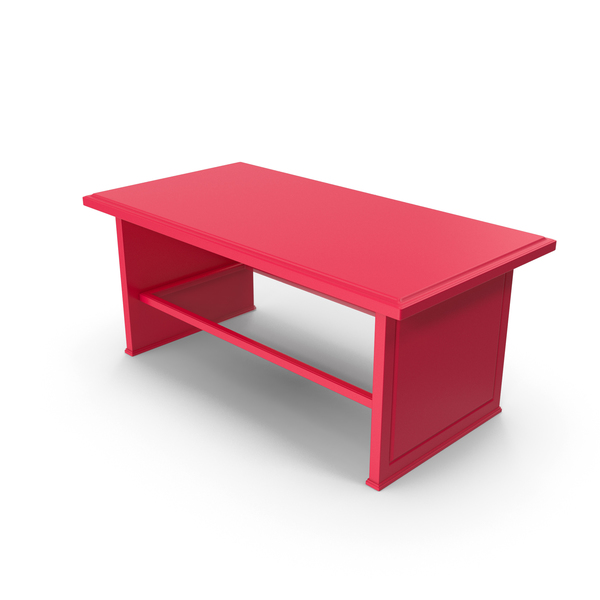 Red Coffee Table PNG & PSD Images