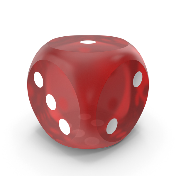 Red Dice Rounded Transparent PNG & PSD Images