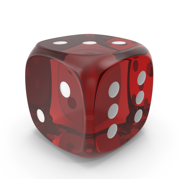 Dice: Red Die PNG & PSD Images