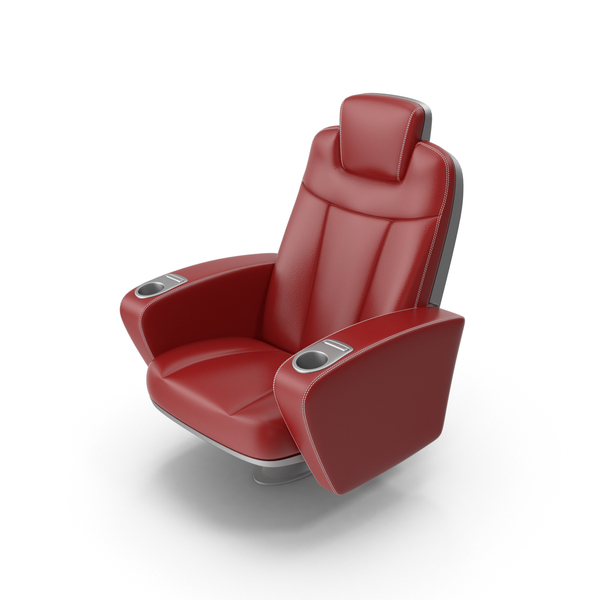 Red Figueras Cinema Seat PNG & PSD Images