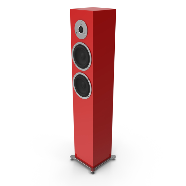 Red Floor Speaker PNG & PSD Images