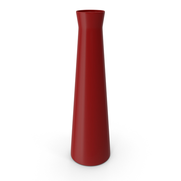 Red Flower Vase PNG & PSD Images