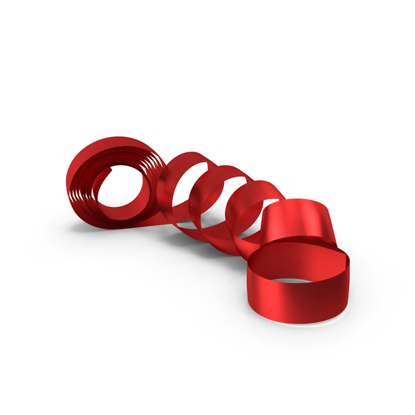 Red Foil Ribbon PNG & PSD Images