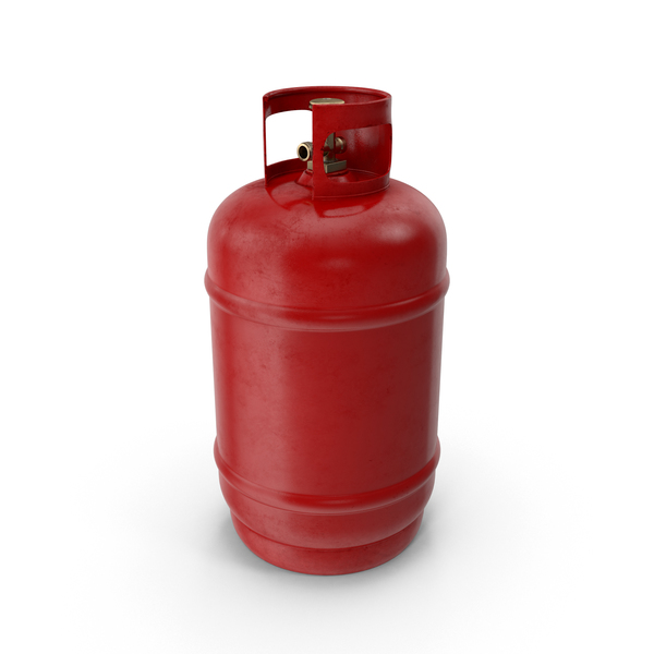 Red Gas Tank Object