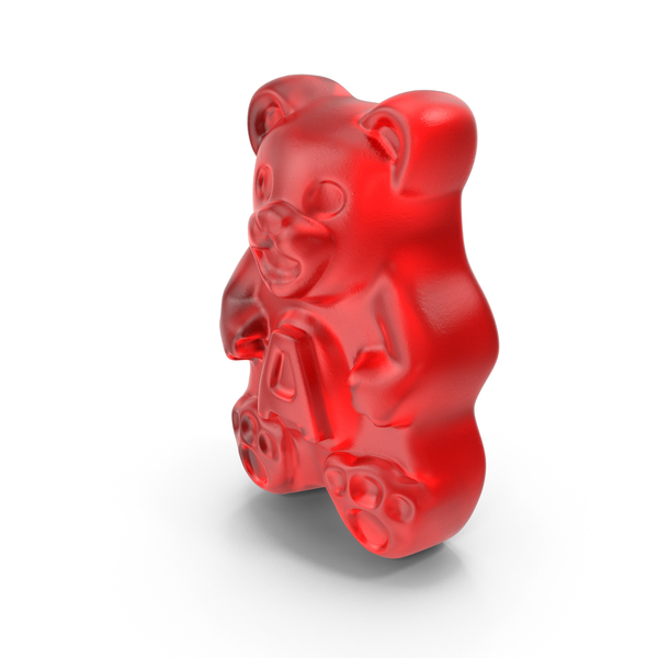 Red Gummi Bear PNG & PSD Images
