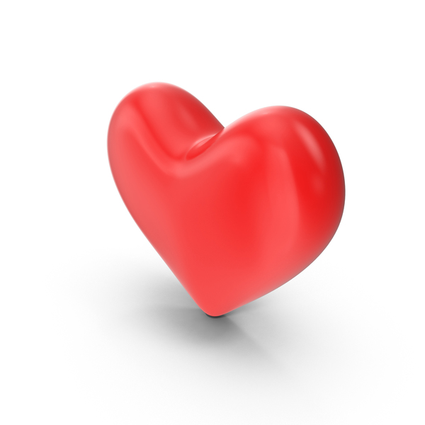 Shape: Red Heart Object