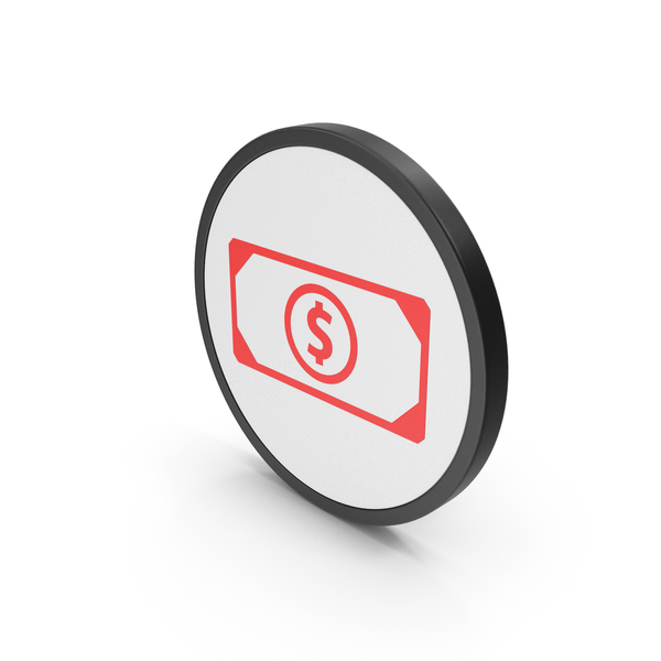 Red Icon Banknote PNG & PSD Images