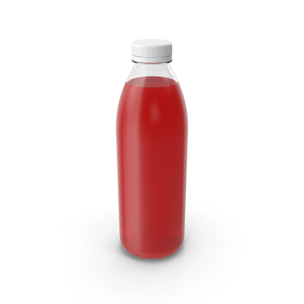 Red Juice Bottle PNG & PSD Images