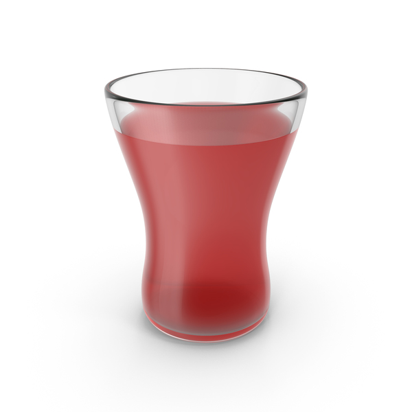 Red Juice Glass PNG & PSD Images