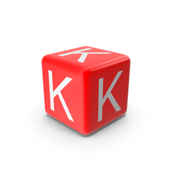 Red K Block PNG & PSD Images