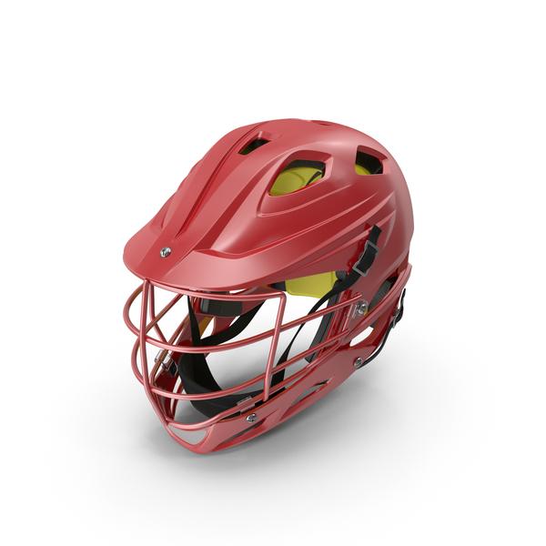 Red Lacrosse Helmet Generic PNG & PSD Images