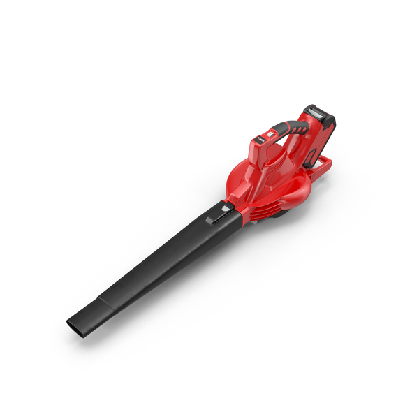 Red Leaf Blower PNG & PSD Images