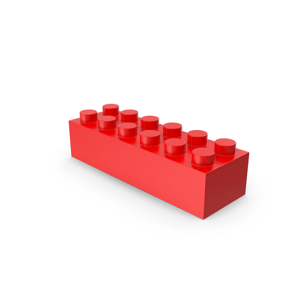 Red Lego Block PNG & PSD Images