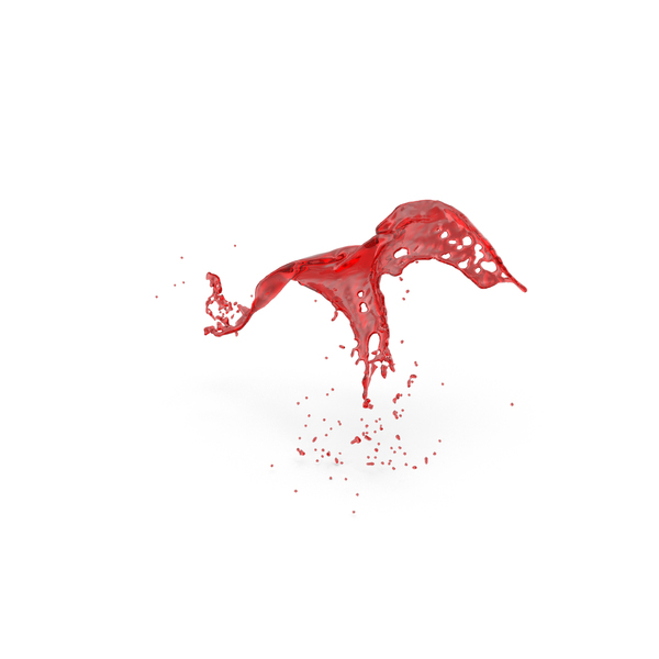 Red Liquid Splash PNG & PSD Images