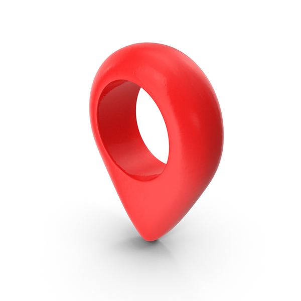 Red Map Pointer PNG & PSD Images