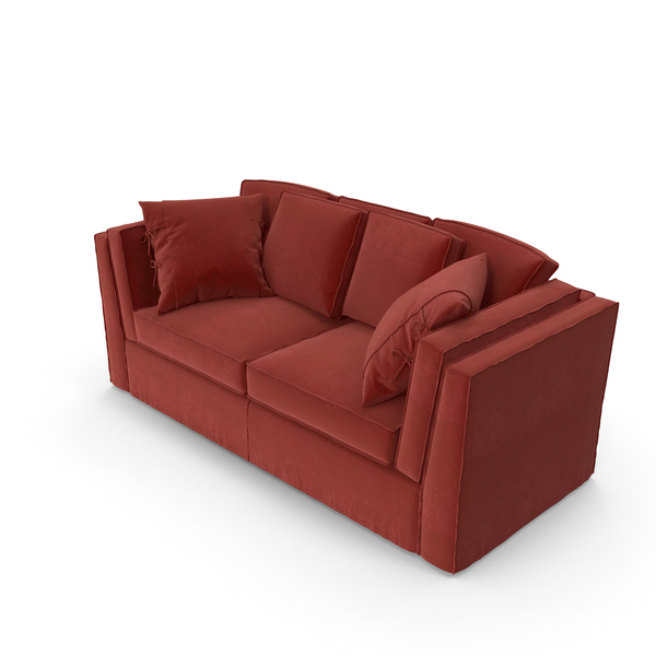Red Modern Sofa PNG & PSD Images